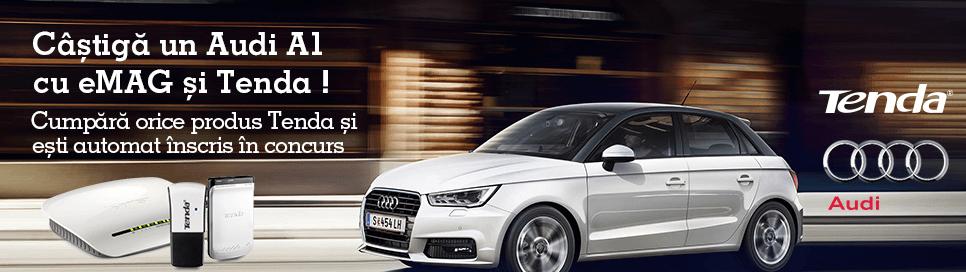 Castiga un Audi A1 cu Tenda si eMAG