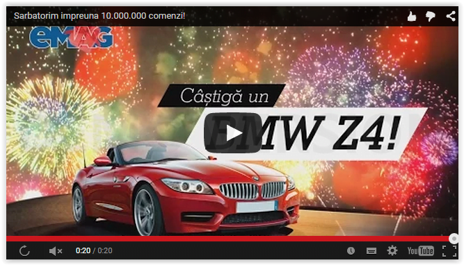 Concurs eMAG BMW Z4