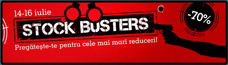 Stock Busters eMAG 14-16 iulie 2015