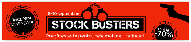 Reduceri eMAG Stock Busters Septembrie 2015