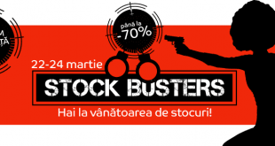 eMAG Stock Busters 22-24 martie 2016