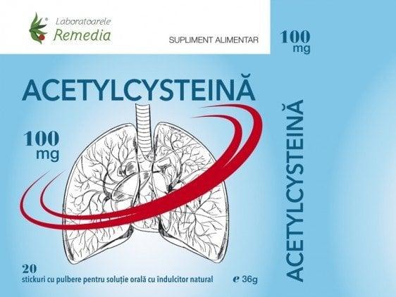 ACETYLCYSTEINA 100MGX20STICK