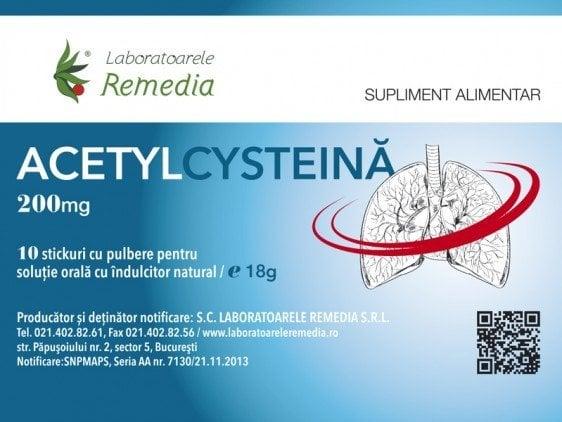 ACETYLCYSTEINA 200MGX10STICK