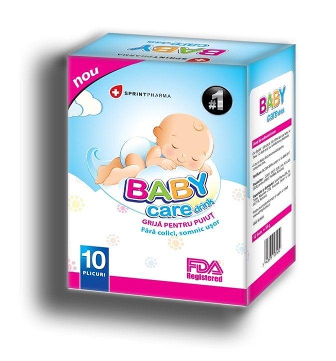 BABY CARE DRINK 10 PLICURI SPRINT PHARMA