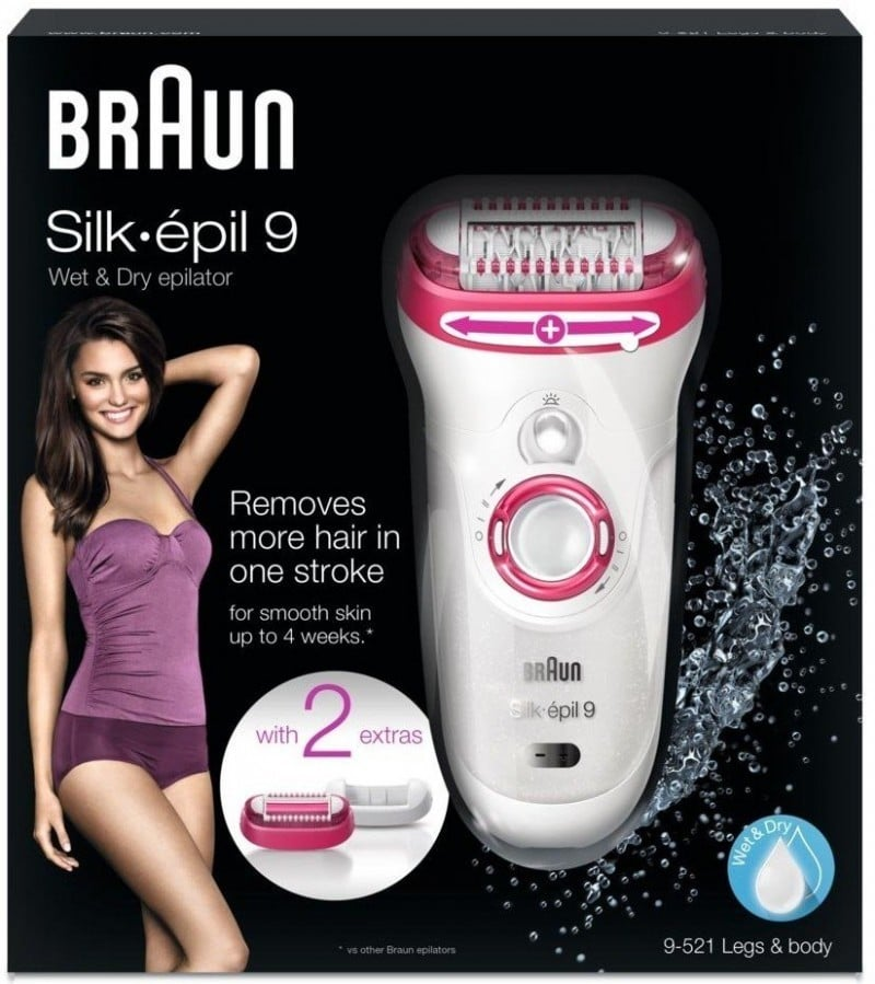 BRAUN - EPILATOR SE9521 LEGS & BODY