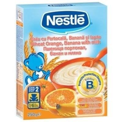 Cereale Nestle grau portocale banane 250g