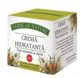 Crema hidratanta ten normal si mixt 50 ml cu unt de shea