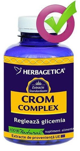 CROM COMPLEX 120 cps