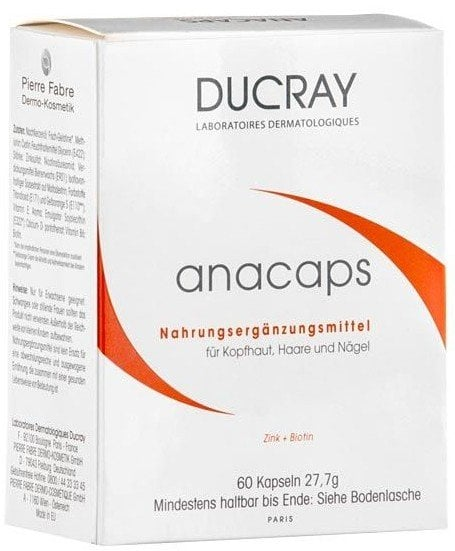 DUCRAY ANACAPS*60 CAPSULE indisponibil momentan