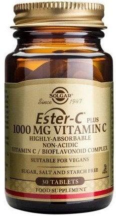 Ester-C 1000mg tabs 30s SOLGAR