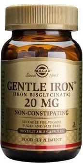Gentle Iron 20mg veg.caps 90s SOLGAR