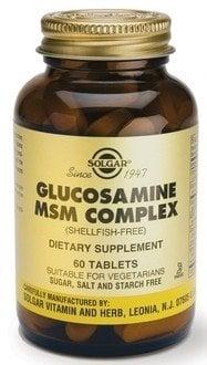 Glucosamine MSM Complex (Shellf.Free) tabs 60s SOLGAR