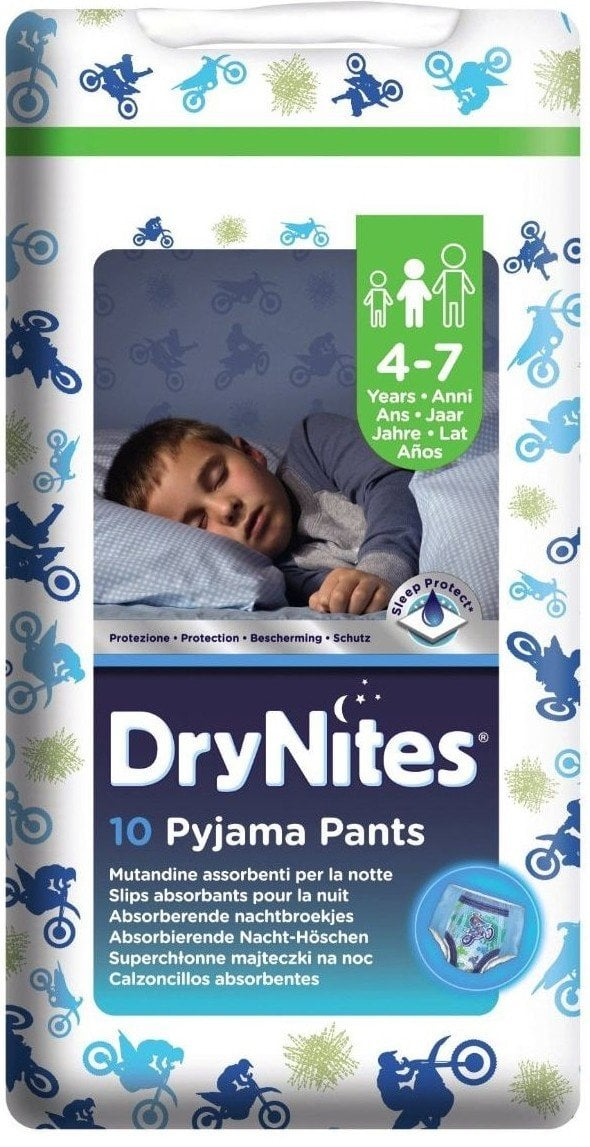 HUGGIES DRYNITES MEDIUM BOY 4-7 ANI (17-30KG)- CHILOTEI DE NOAPTE