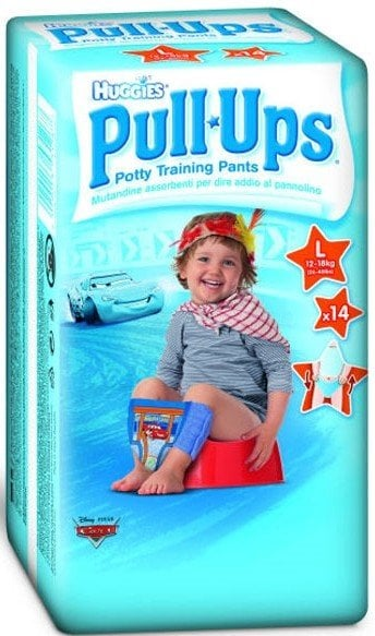 HUGGIES PULL - UPS BOY - CHILOTEI TRANZITIE COPII M/5 (11-18KG)