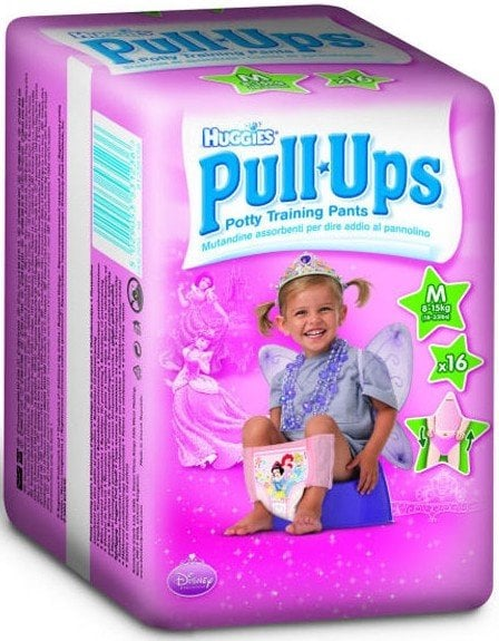HUGGIES PULL - UPS GIRL - CHILOTEI TRANZITIE COPII S/4 (8-15KG)