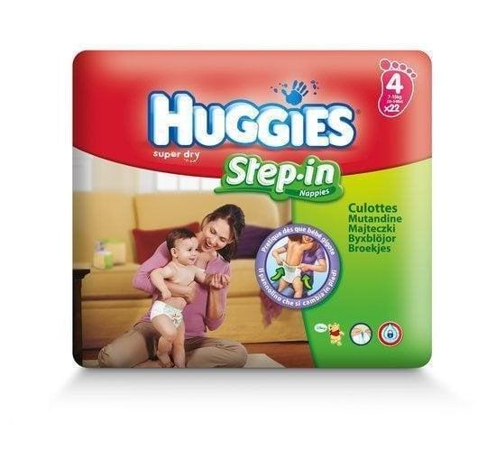 HUGGIES STEP-IN 4 (22) SP 7-15 KG
