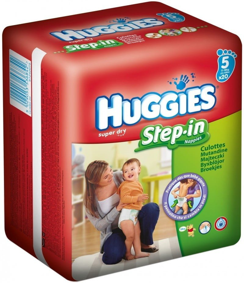 HUGGIES STEP-IN 5 (20) SP 11-18 KG