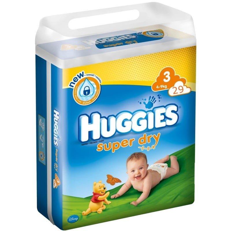 HUGGIES SUPER DRY 3 (29) 4-9 KG