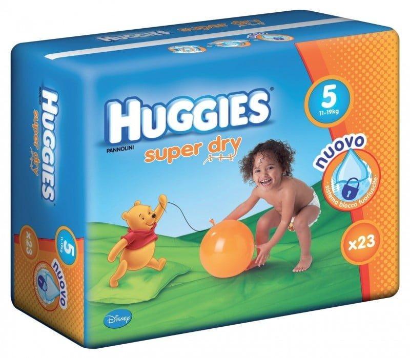 HUGGIES SUPER DRY 5 (23) 11-19 KG