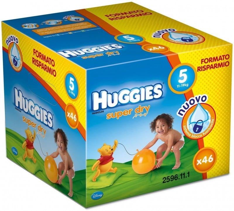 HUGGIES SUPER DRY 5 (46) 11-19 KG