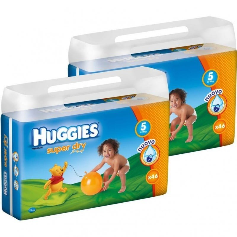 HUGGIES SUPER DRY 5 (92) 11-19 KG