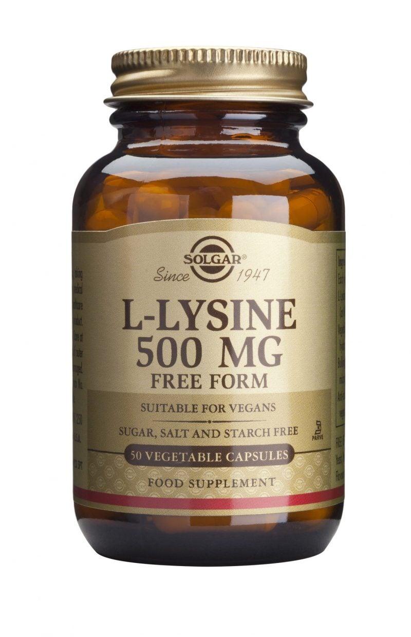 L-LYSINE 500MG 50 CPS VEGETALE