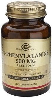 L-PHENYLALANINE 500mg veg.caps 50s SOLGAR