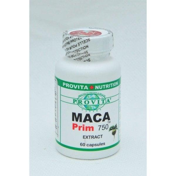 MACA PRIM 750 EXTRACT 60CPS PROVITA