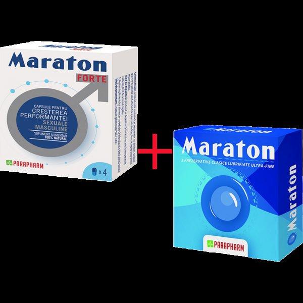 MARATON FORTE 4CPS + PREZERVATIV PROMOTIE