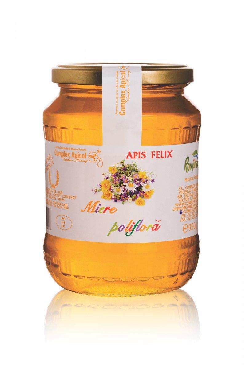 Miere Poliflora Apis Felix 950 g
