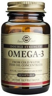 Omega-3 Double Strength softgels 30s SOLGAR