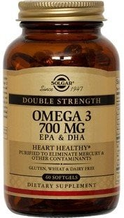 Omega-3 Double Strength softgels 60s SOLGAR
