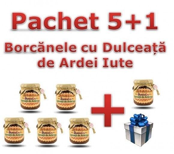 Pachet 5+1 Dulceata de Ardei Iute