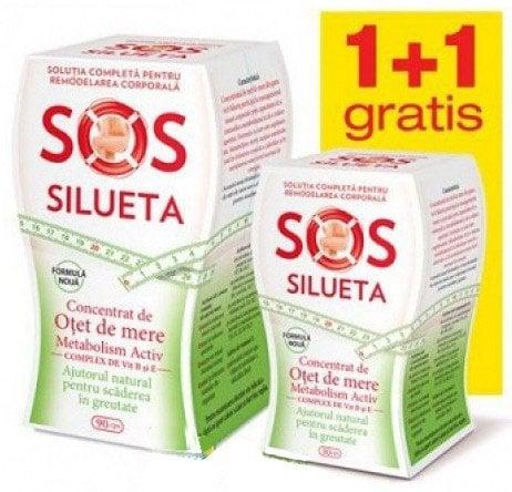 PACHET CONCENTRAT OTET DE MERE 90CPS+30CPS SOS SILUETA