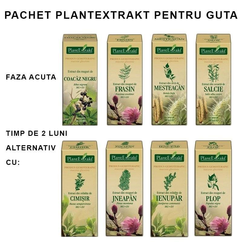 PACHET PLANTEXTRAKT PENTRU GUTA