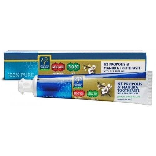 Pasta de dinti cu Manuka MGO 400+, Propolis Bio 30 si ulei de arbore de ceai 100g