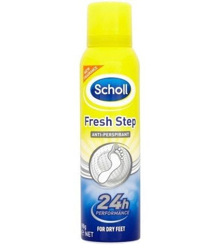 SCHOLL FRESH STEP SPRAY PICIOARE 150ML NEW