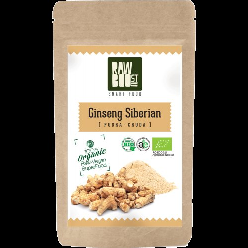 SIBERIAN GINSENG PUDRA ECOLOGICA 100G