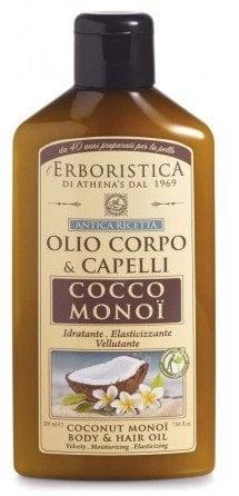 Ulei de cocos si monoi Erboristica pentru corp si par 200ml