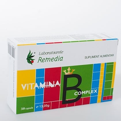 VITAMINA B COMPLEX 3BLSX10CPS