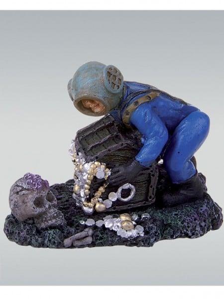 Figurina acvariu JBL ActionAir Treasure Hunter