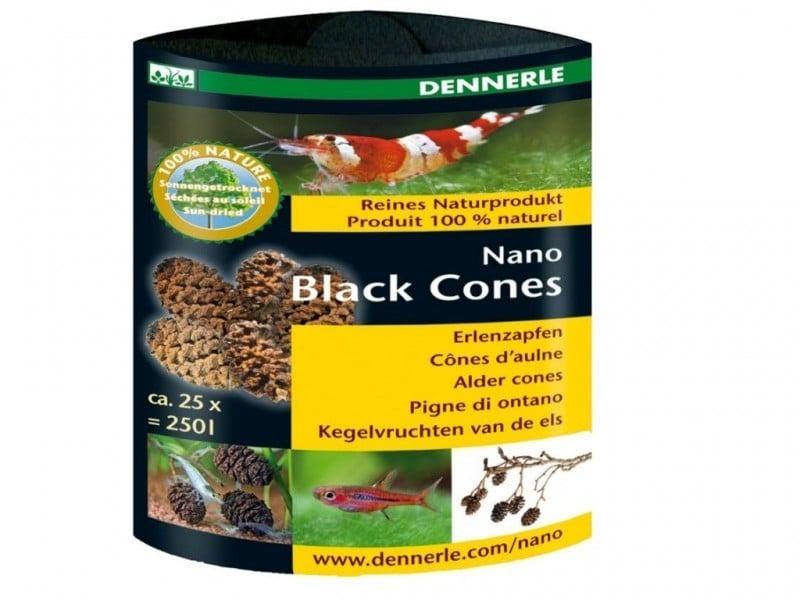 Conditioner creveti Dennerle Nano Black cones aprox 25 buc