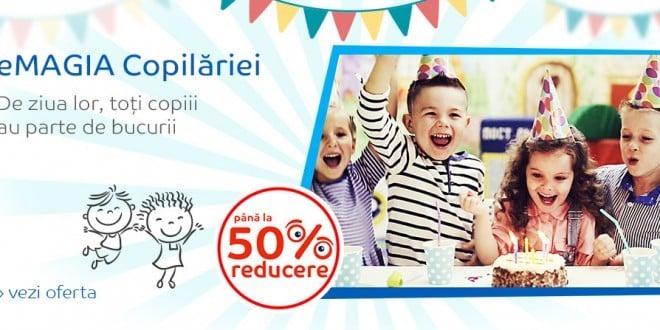 Reduceri eMAG Ziua Copilului