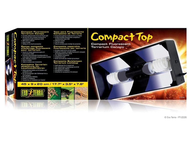 Lampa Exo Terra Compact Top 60 x 9 x 20 cm (PT2227)