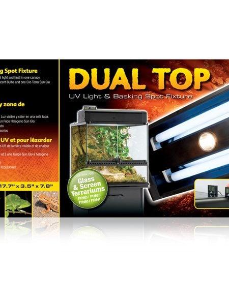 Lampa Exo Terra Dual Top 45 x 9 x 20 cm (PT2230)