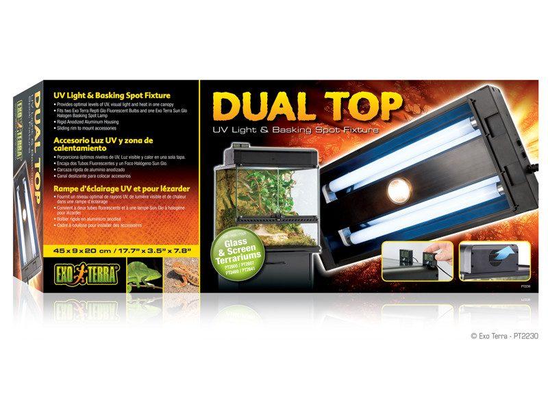 Lampa Exo Terra Dual Top 60 x 9 x 20 cm (PT2232)