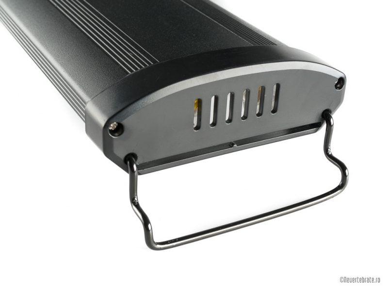 Lampa Odyssea Dual Pro 2x24W neagra