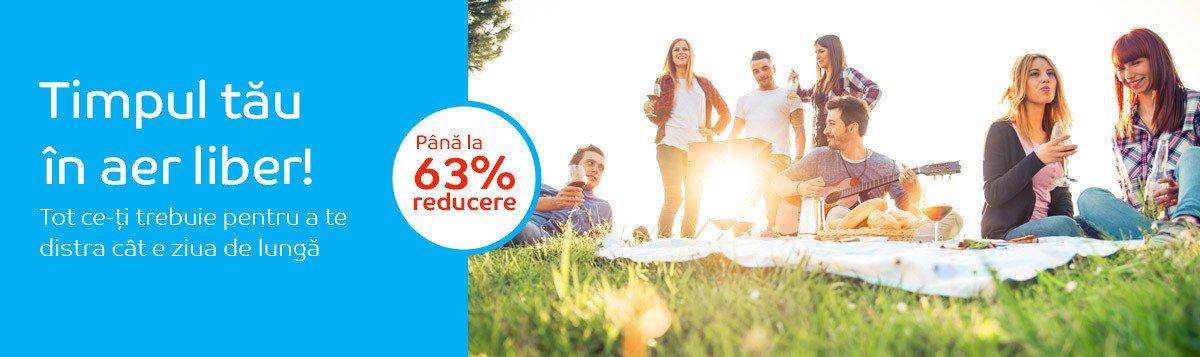 Reduceri articole pentru petrecerea timpului liber pana la 63%Reduceri articole pentru petrecerea timpului liber pana la 63%
