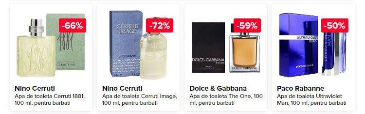 Parfumuri cu pret redus la elefant.ro
