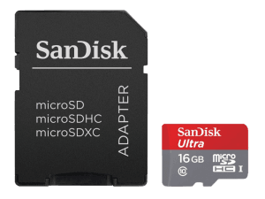 Ultra Android MicroSDHC 16GB CLS10 UHS-I 30MB/s + adaptor SD